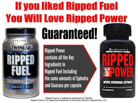 Ripped Fuel With Ephedra