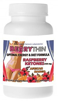 BerryThin with Raspberry Ketones - Buy 2 Get 1 FREE!