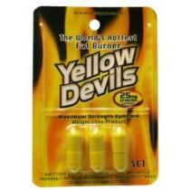American Generic Labs AGL Yellow Devils 25mg 3 capsule count Free